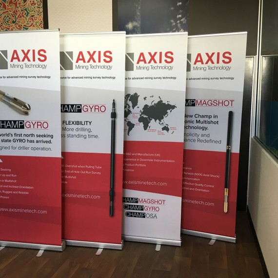 Axis Mining Tech Banners